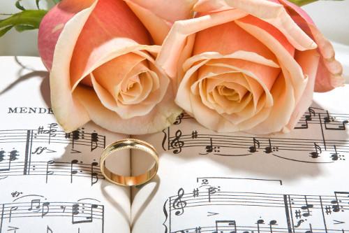 rose e musica matrimonio